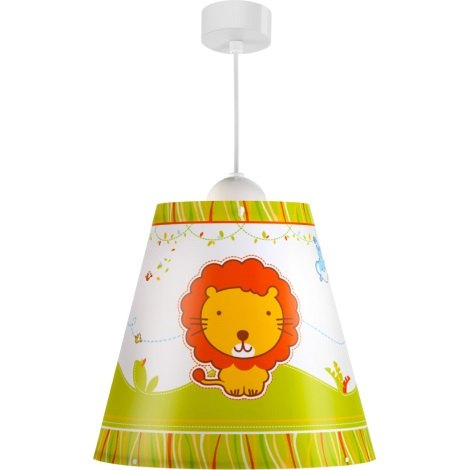 Klik 21112 - Luster LITTLE ZOO E27/60W/230V