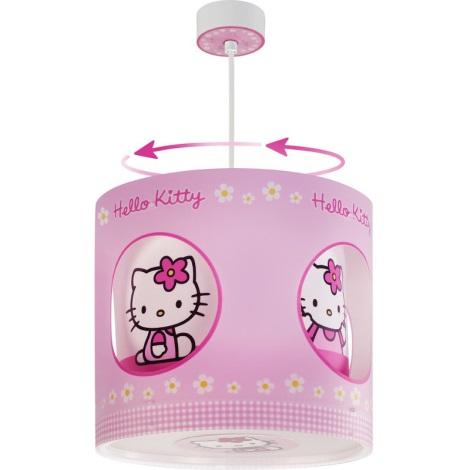 Klik 21251 - Detská stolná lampa HELLO KITTY E14/40W