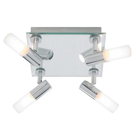 Kúpeľňové bodové svietidlo LINATE 4H 4xG9/25W
