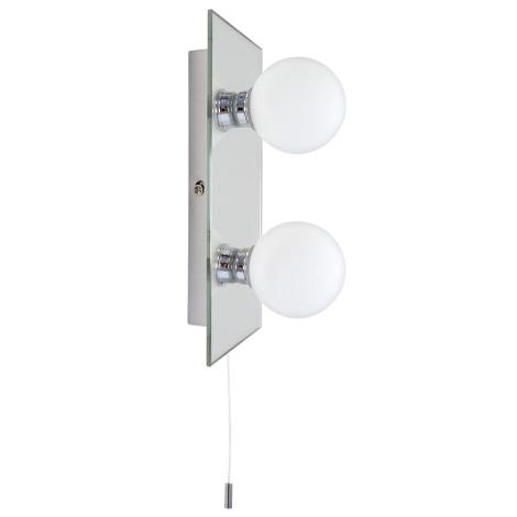 Kúpeľňové nástenné svietidlo GLOBE 2 2xG9/25W