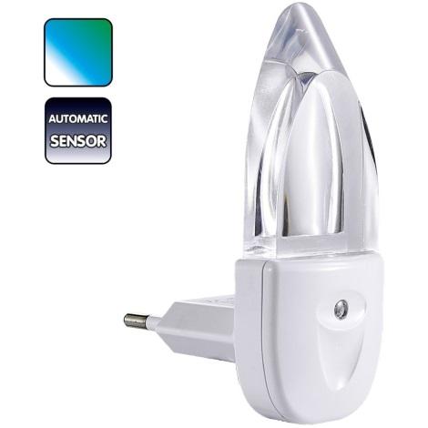 Lampička do zásuvky MINI-LIGHT (mení farby)