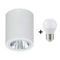 LED Bodové svietidlo DOWNLIGHT ROUND 1xE27/6W/230V 112x90 mm