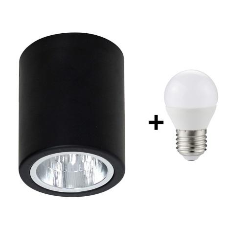 LED Bodové svietidlo DOWNLIGHT ROUND 1xE27/6W/230V 112x90mm