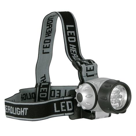 LED čelovka KOPFLAMPE 7xLED/3xAAA