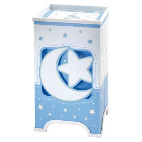 LED Detská stolná lampa BLUE MOON 1xE14/1W LED