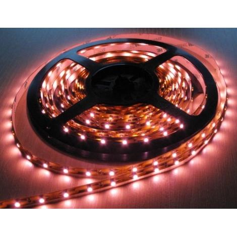 LED LQ Pásik 3528/12V 4,8W/m PINK 5m