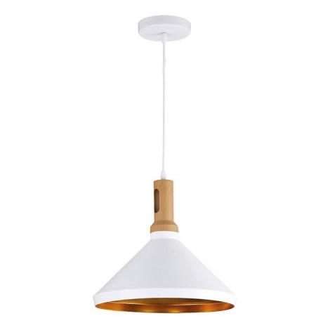 LED Luster 1xE27/10W/230V biela 35cm
