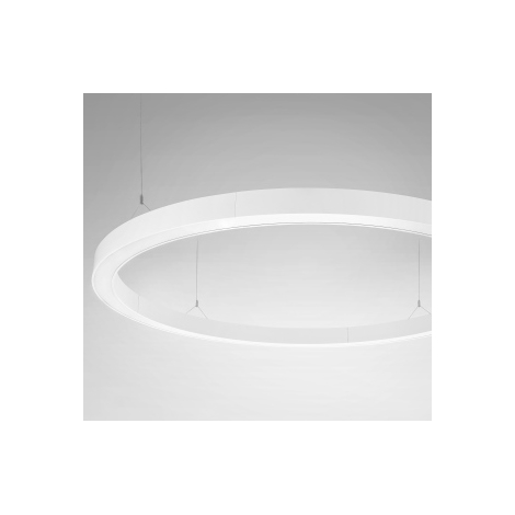 LED luster CIRCOLARE RING LED/176W/230V