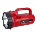LED nabíjacia baterka LED/5W/4V/230V červená