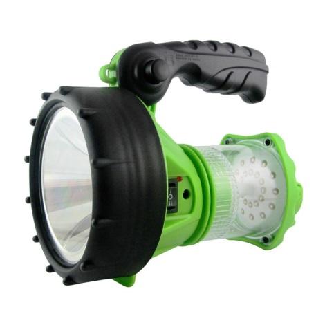 LED Nabíjacia baterka s lucernou LED/1W