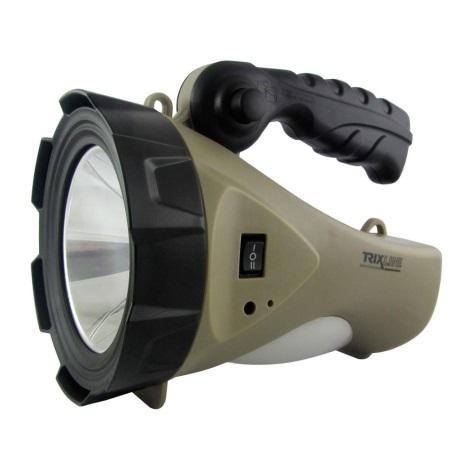 LED Nabíjacia baterka s lucernou LED/5W