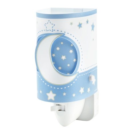 LED Nástenné detské svietidlo BLUE MOON 1xE14 / 0,5 W LED