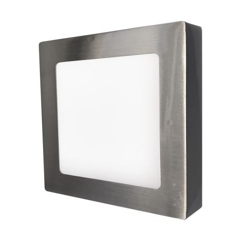 LED nástenné svietidlo FENIX LED90/18W strieborná / teplá biela