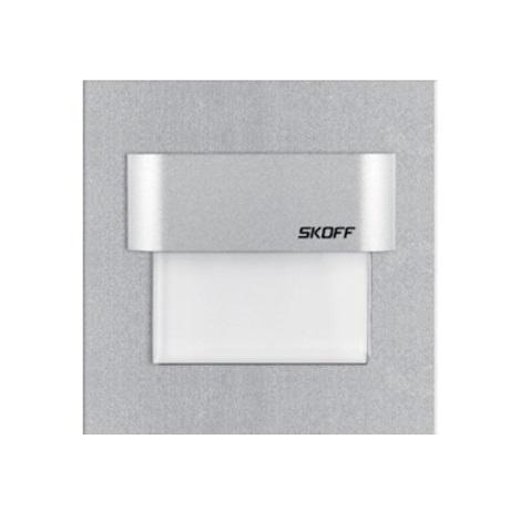 LED Nástenné svietidlo TANGO 0,8 W/10V biela hliník
