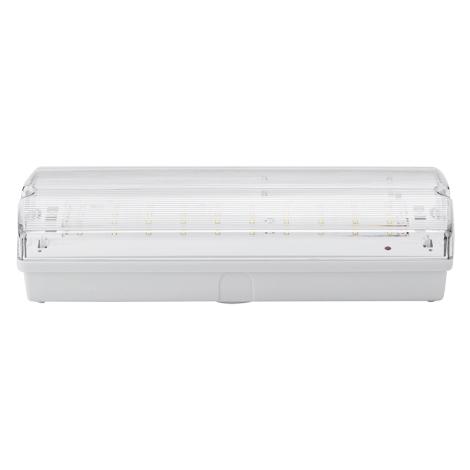 LED Núdzové svietidlo LED/3W/240V 6000K IP65