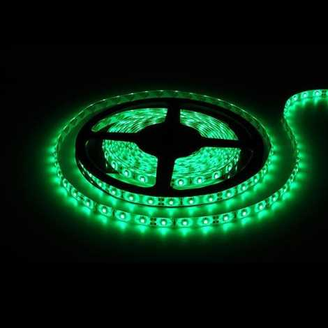 LED pásec 5m zelená