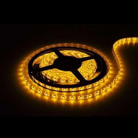 LED pásec 5m žltá