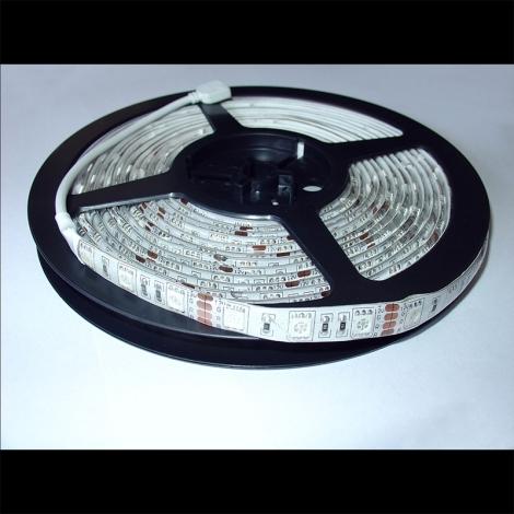 LED pásec farbistý - vodotesný IP65