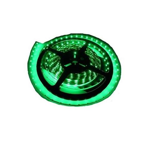 LED pásec vodotesný 5m IP65 zelená
