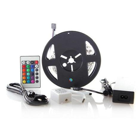 LED pásik s diaľkovým ovládačom 7,2W/12V 3m
