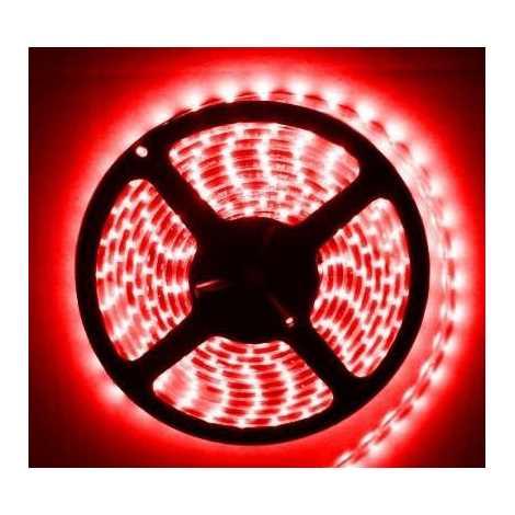 LED pásik vodotesný 5m IP65 červená