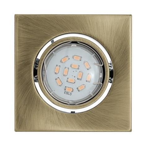 LED podhľadové svietidlo IGOA 1xGU10/5W/230V bronz