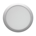 LED Podhľadové svietidlo LED/18W/85V-265V strieborná