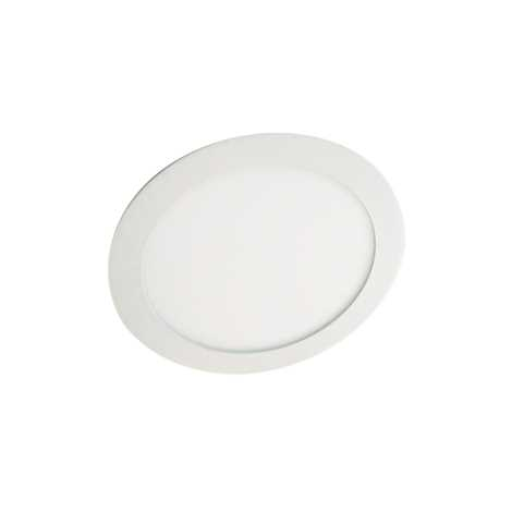 LED podhľadové svietidlo LED60 VEGA - R Silver SMD/12W studená biela - GXDW052