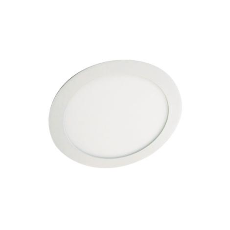 LED podhľadové svietidlo LED60 VEGA-R Silver SMD/12W teplá biela