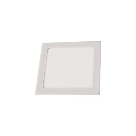 LED podhľadové svietidlo LED60 VEGA - S Silver SMD/12W studená biela - GXDW056