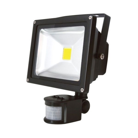 LED Reflektor s PIR čidlom T262 30W LED IP65