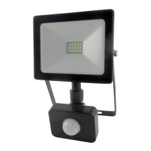 LED Reflektor so senzorom LED/10W/230V IP64 800lm 4200K