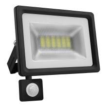 LED Reflektor so senzorom LED/10W/85-265V 4500K IP65