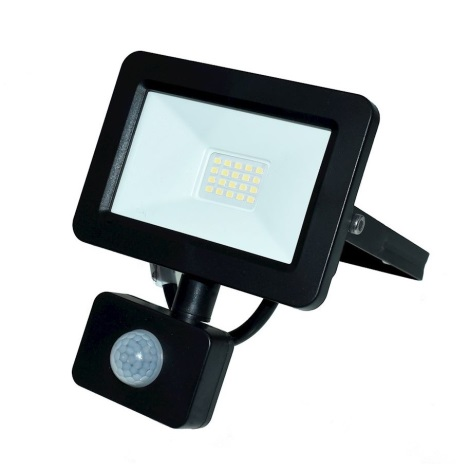LED Reflektor so senzorom LED/20W/230V IP65 6000K