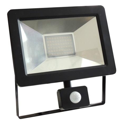 LED Reflektor so senzorom NOCTIS 2 SMD LED/30W/230V IP44 1950lm čierna