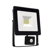 LED Reflektor so senzorom NOCTIS LUX SMD LED/20W/230V IP44 1700lm čierna