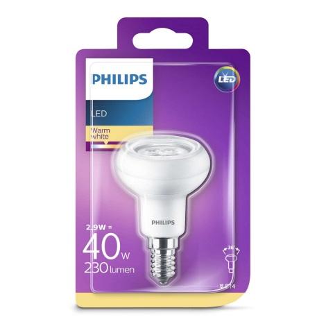 LED Reflektorová žiarovka Philips R50 E14/2,9W/230V