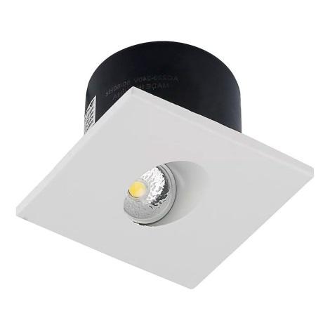 LED Schodiskové svietidlo 1xLED/3W/230V 3000K