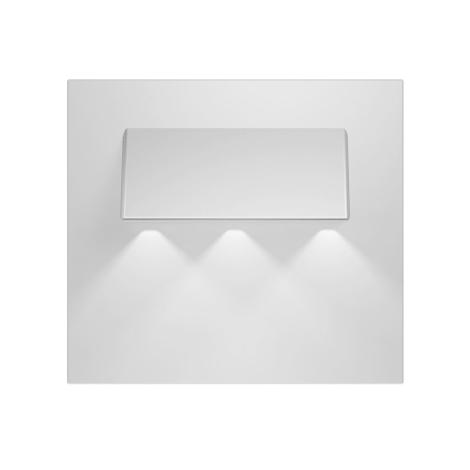 LED schodiskové svietidlo GAMA 3xLED/0,24W/12V hliník 3000K