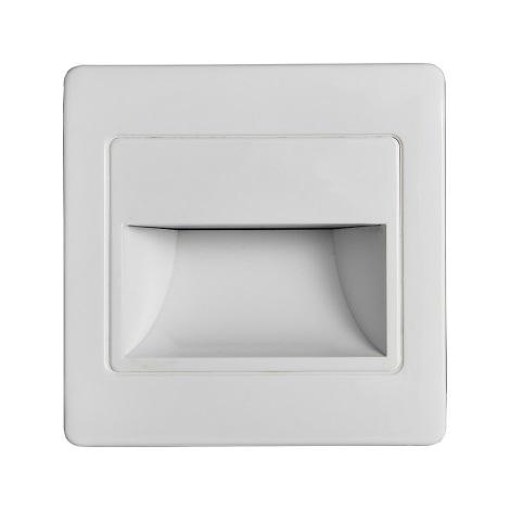 LED Schodiskové svietidlo so senzorom STEP LIGHT NET LED/1,5W/110-256V biela