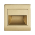 LED schodiskové svietidlo STEP LIGHT NET LED/1,5W/30V zlatá