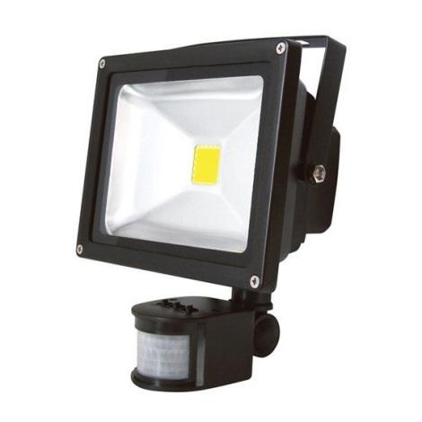 LED Senzorový reflektor T247 20W LED