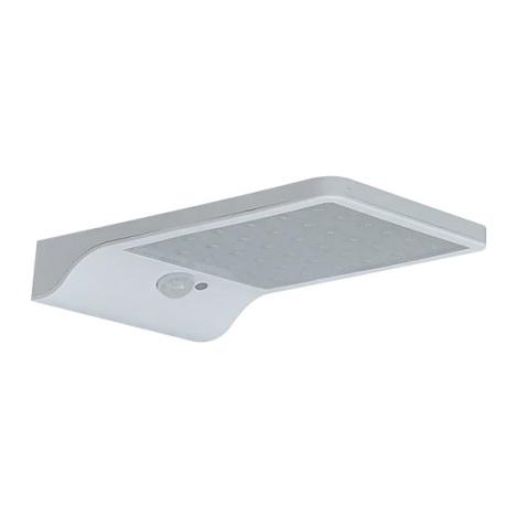 LED Solárne nástenné svietidlo so senzorom LED/2,5W/3,7V IP65