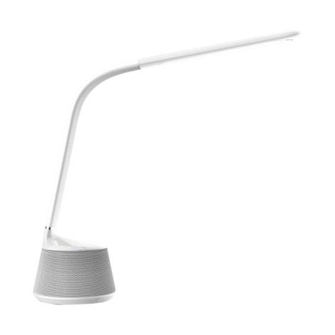 9bb94af85 LED Stmievateľná stolná lampa s bluetooth reproduktorom LED/11,5W/230V/12V