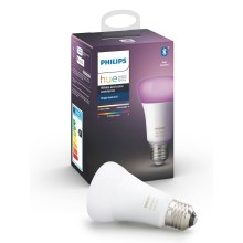 LED Stmievateľná žiarovka Philips HUE WHITE AND COLOR AMBIANCE E27/9W/230V 2000-6500K