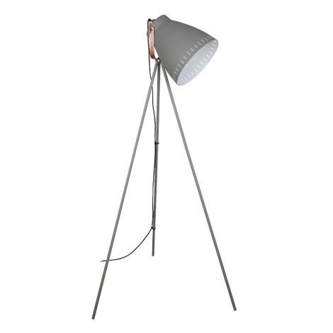 LED Stojacia lampa 1xE27/10W/230V šedá 145cm