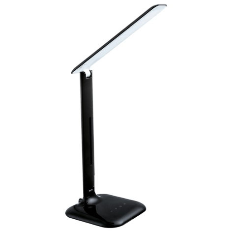 LED stolná lampa LED/2,9W/230V čierna