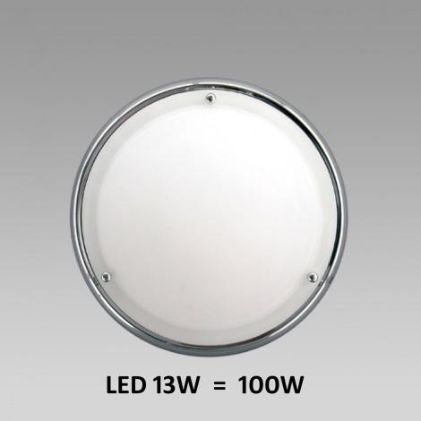 LED Stropné / Nástenné kúpeľňové svietidlo NEPTUN 1xLED/13W chróm
