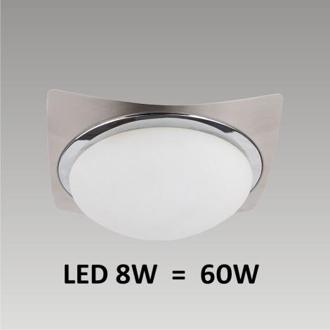 LED Stropné / Nástenné svietidlo LENS 1xLED/8W 170mm