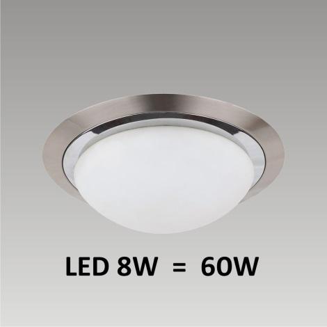 LED Stropné / Nástenné svietidlo LENS 1xLED/8W 185mm